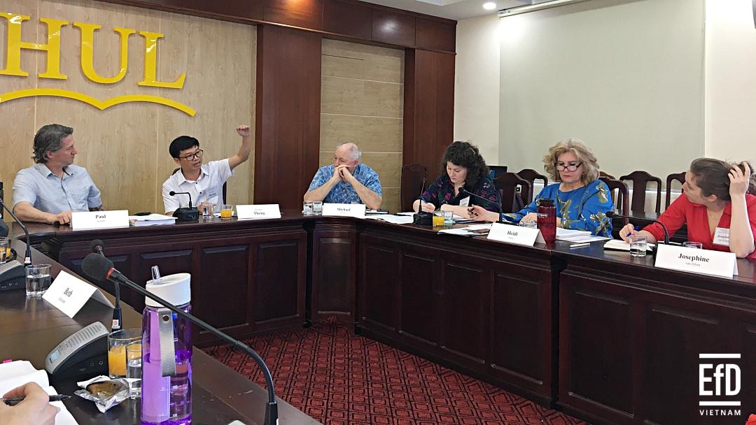 """EfD-Vietnam tham gia hội nghị bàn tròn quốc tế chủ đề """"Nhựa và Môi trường"""""""