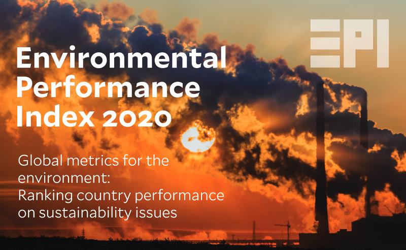 Chỉ số hiệu quả môi trường (EPI) năm 2020